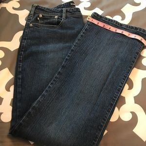 Express Stretch Fit Flair Jeans